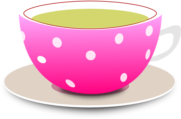 image free Clip art at clker. Teacup clipart