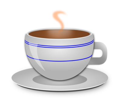 picture Coffee cup cafe tea. Teacup clipart free