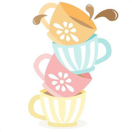 banner black and white stock Teacup clipart free. Tea cups download best
