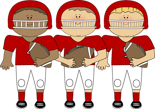 banner library library Football team . Writer clipart sport.