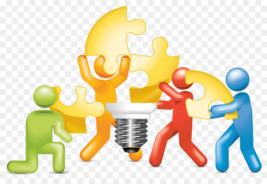 image free Building cartoon text product. Teamwork clipart.