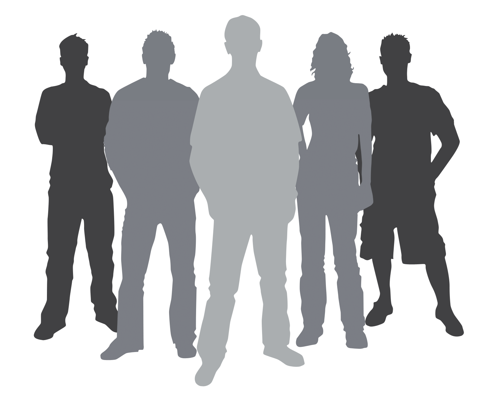 image transparent library Business Team Silhouette at GetDrawings