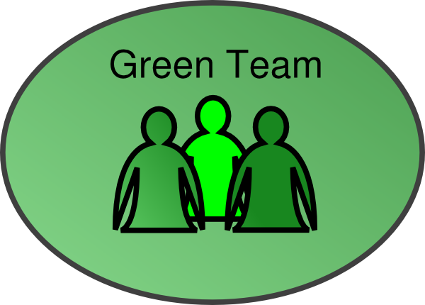 svg freeuse stock Green Team Clipart