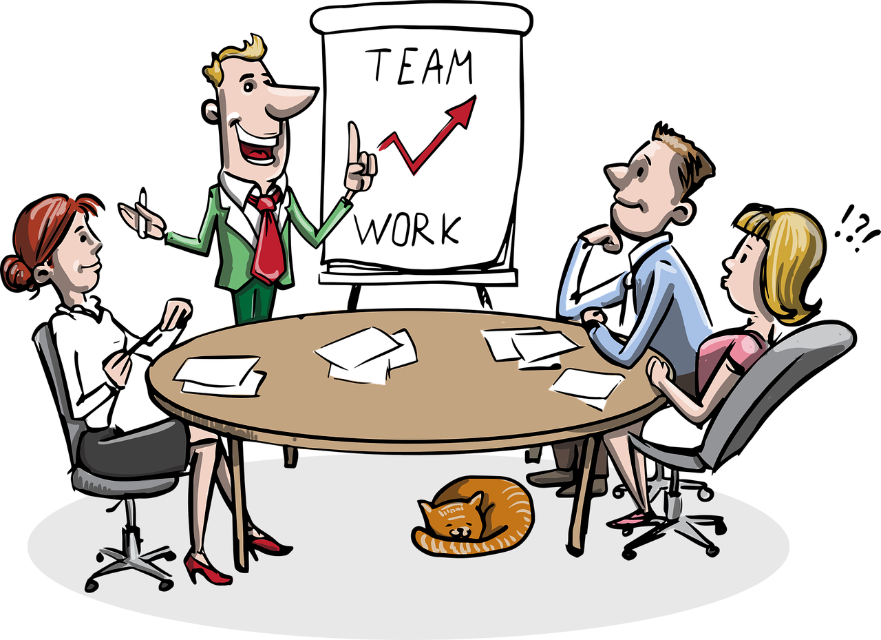 free download teamwork clipart group role #84565951