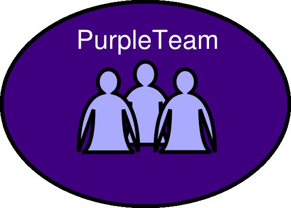 clipart stock Purple Team Clip Art Quotes