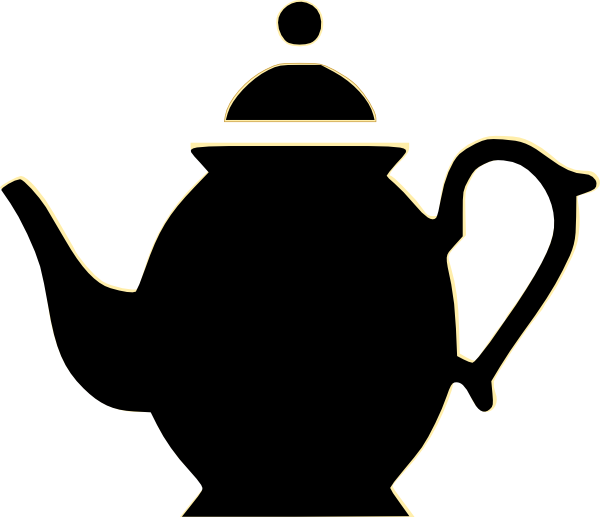royalty free stock . Teapot clipart