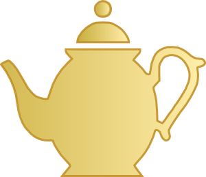 black and white library Teapot clipart. Clip art at clker