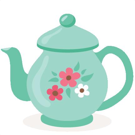 clip art transparent library Tea pot svg scrapbook. Teapot clipart lady