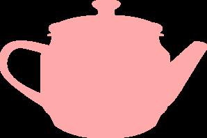 png freeuse download Tea Pink Pot Clip Art at Clker