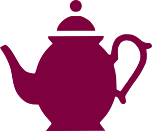 vector transparent library Teapot Pouring Magenta Clip Art at Clker
