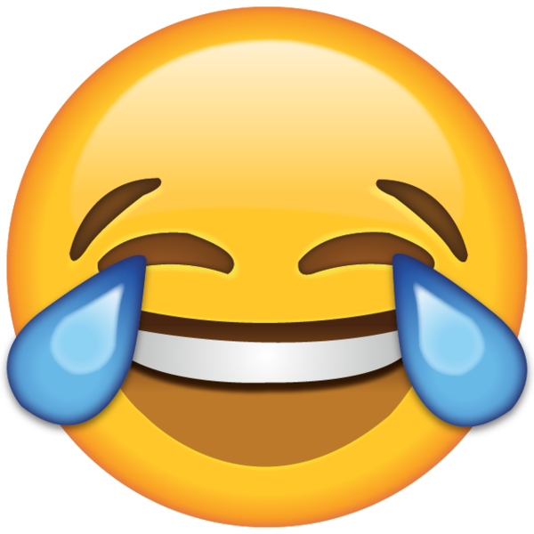 png free stock Laugh so hard until you cry with this little emoji guy who has two