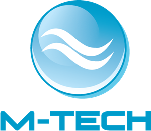 banner stock tech vector blue #104658827