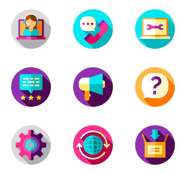 picture stock Tech vector technical. Support icons free