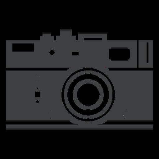 banner transparent Rangefinder camera grey icon