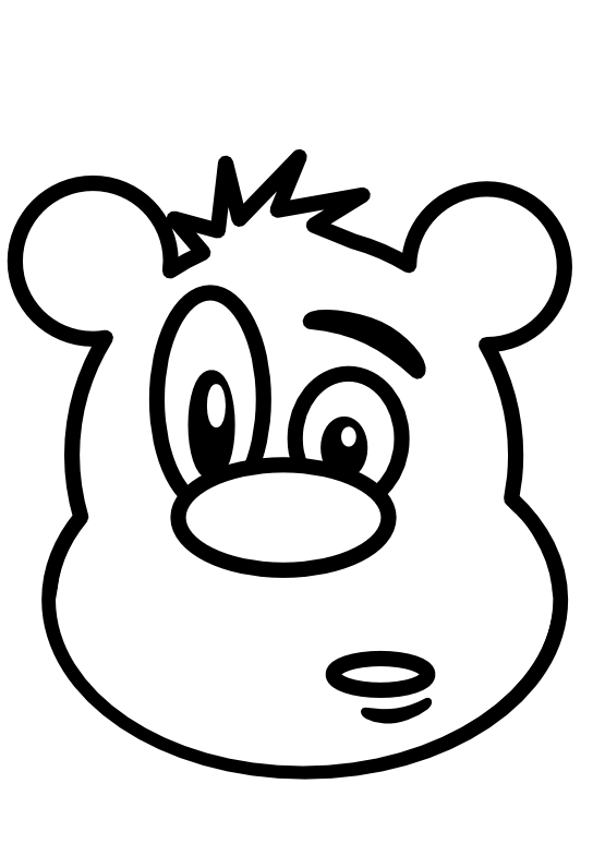 jpg freeuse download Panda free images teddybearclipartblackandwhite. Teddy bear black and white clipart