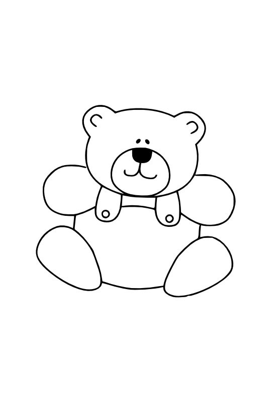 svg black and white Teddy bear clipart black and white.