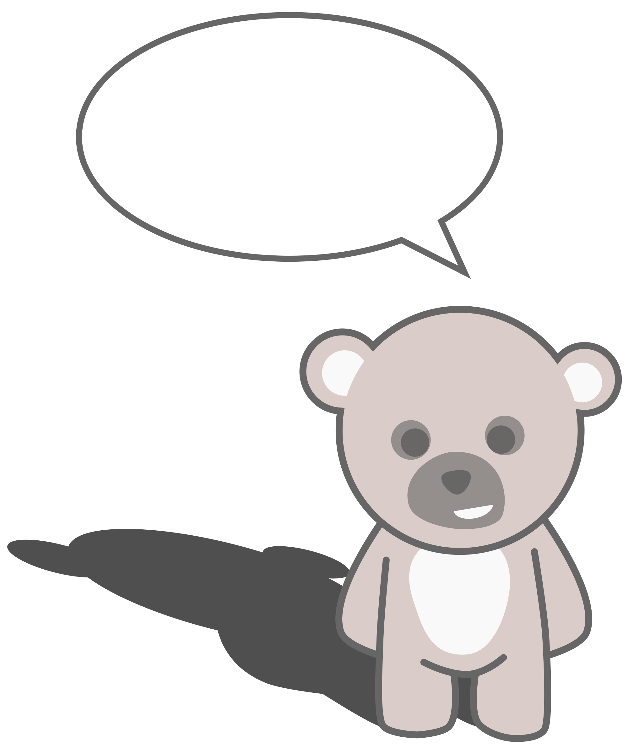 picture royalty free download Teddy bear clipart black and white. Cute at getdrawings com