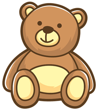 vector transparent Images free download . Teddy bear clipart png