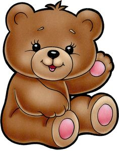 library Bears look at clip. Teddy bear images clipart