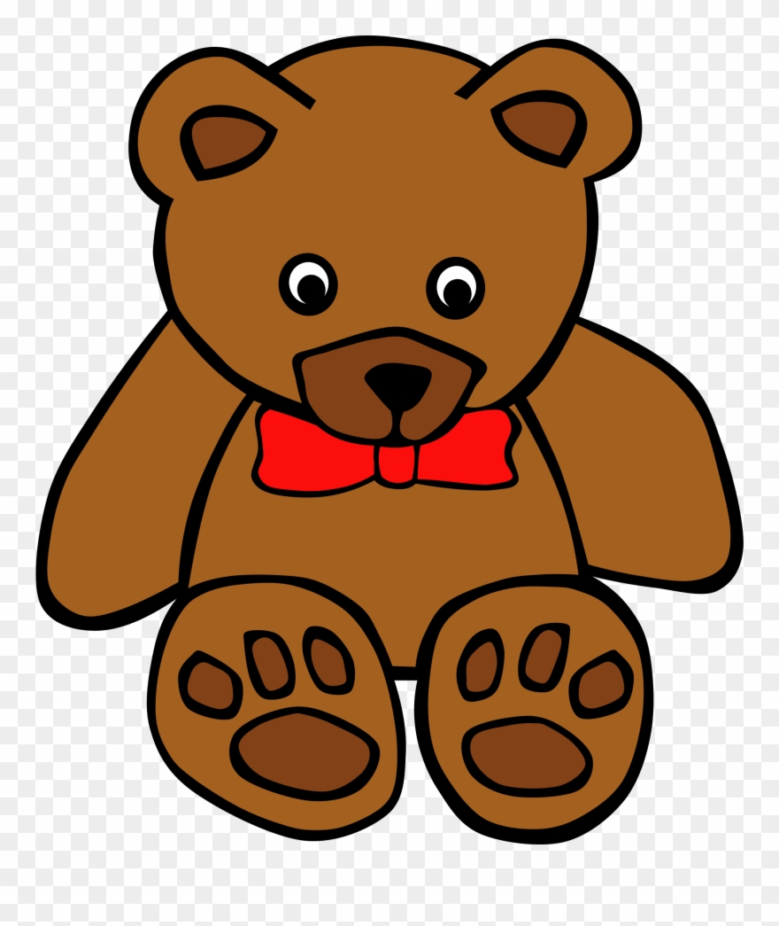 vector black and white download Free teddy bear clipart. Images