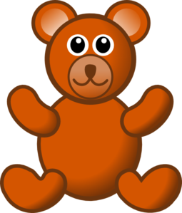 image free stock Brown Teddy Bear Clip Art at Clker