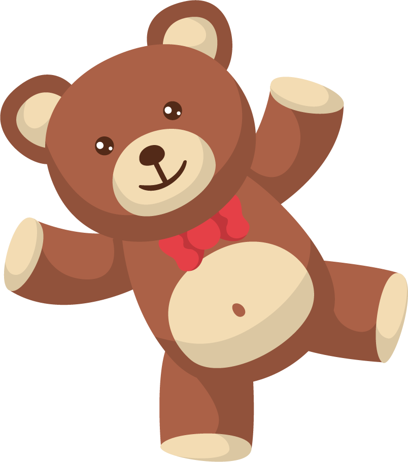 png black and white Teddy Bear PNG Transparent Free Images