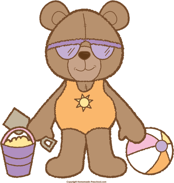 picture royalty free stock Bear click to save. Teddy clipart preschool