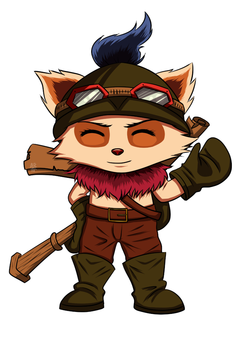 jpg stock teemo transparent champions #116226632