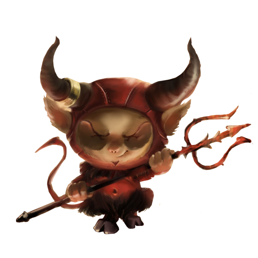 png royalty free library Teemo Satan Render by renderlover on DeviantArt