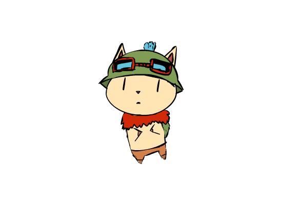 vector royalty free download Teemo by iamsleepless on DeviantArt