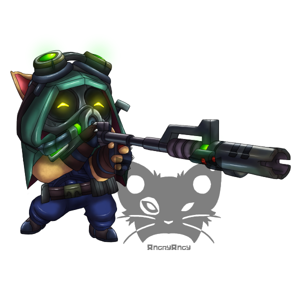 vector freeuse download Omega Squad Teemo by AngryAngysArt on DeviantArt