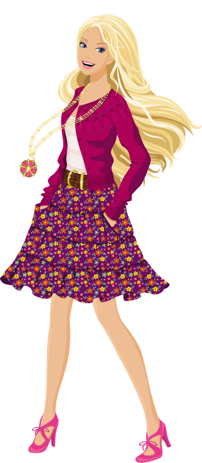 banner stock Teen clipart. Images for barbie png