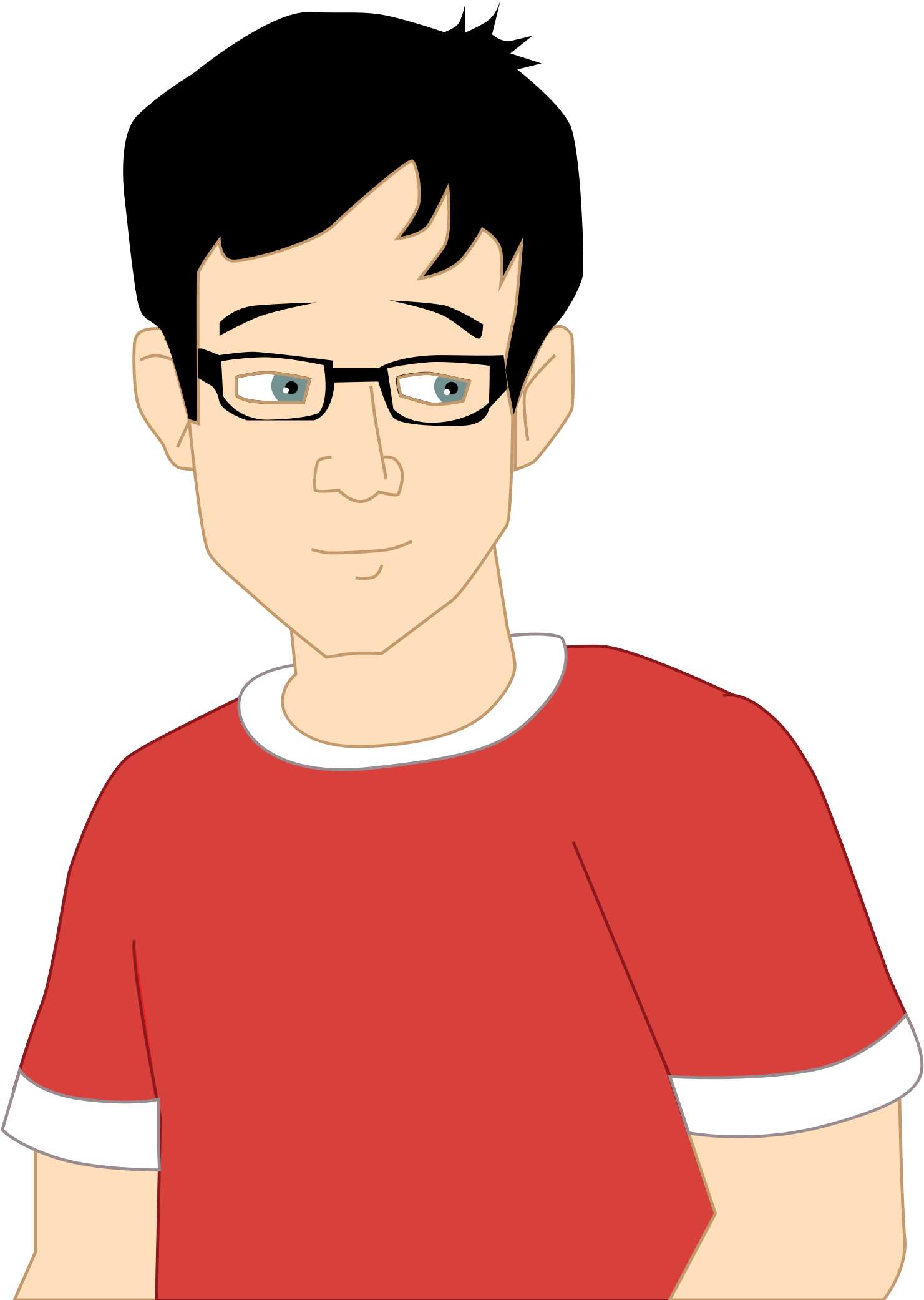 vector library Teen clipart. Boy big image png
