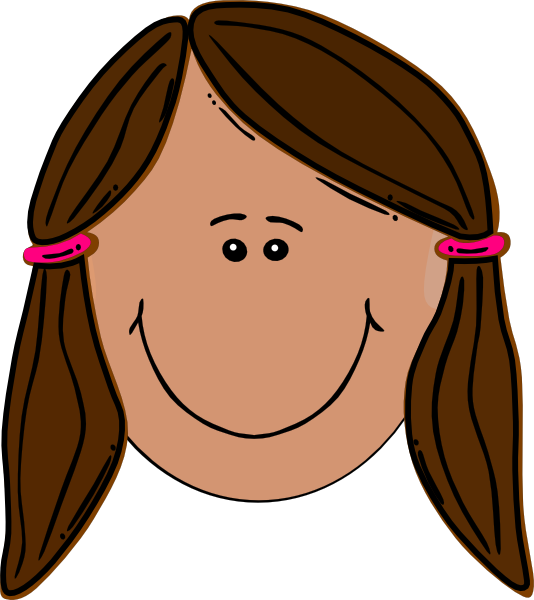 royalty free Brunette clip art at. Teenager clipart