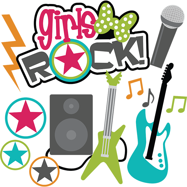 image library stock Girls Rock