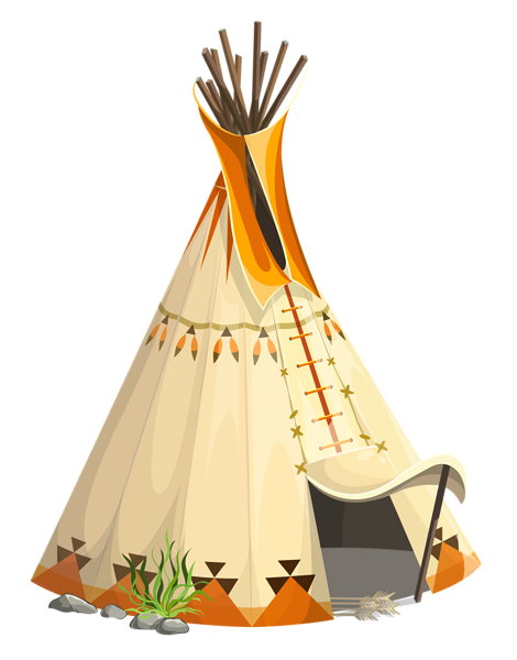 royalty free library Transparent tipi tent png. Teepee clipart