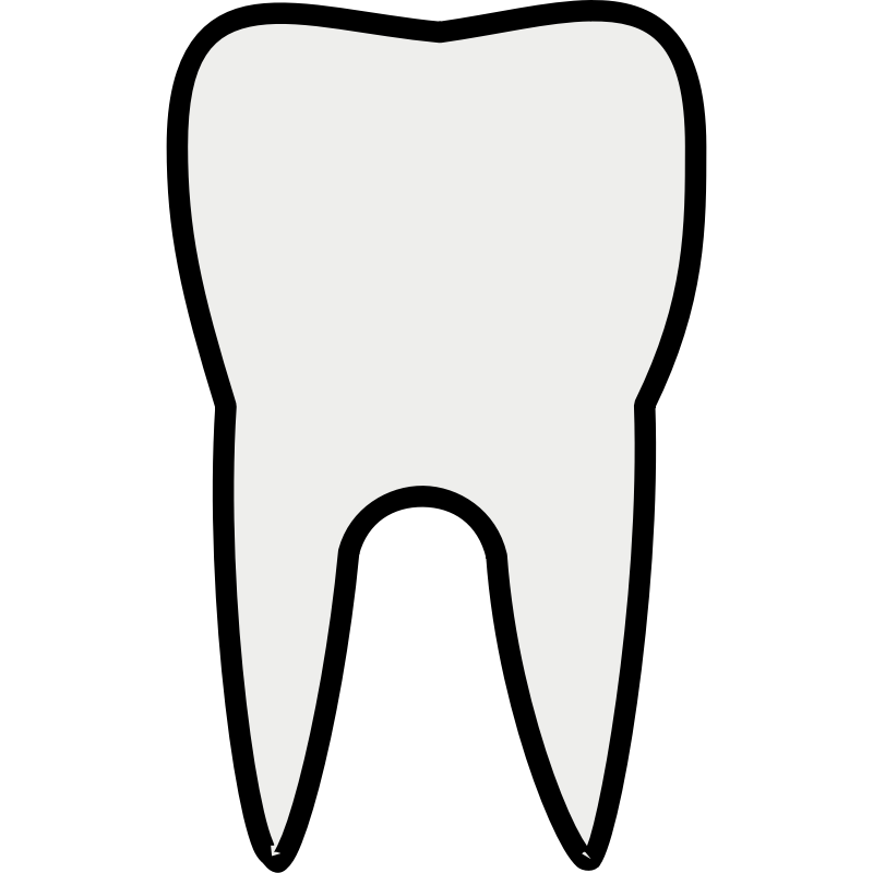svg download Drawing tooth front. Pictures of cartoon teeth
