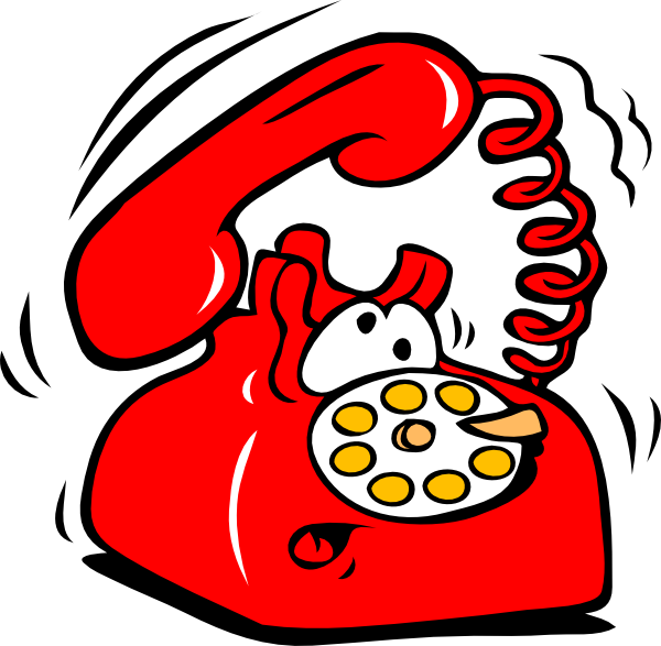 image stock Ringing Phone Clip Art at Clker