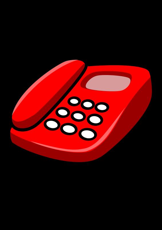 clip transparent stock Telephone
