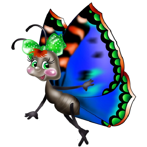 jpg royalty free download Writer clipart unfinished work. Funny cartoon butterfly images