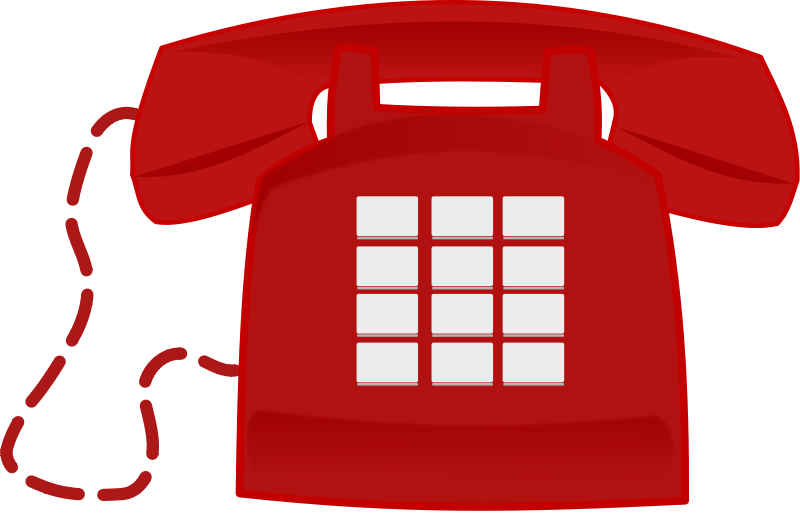 clip art free library Telephone