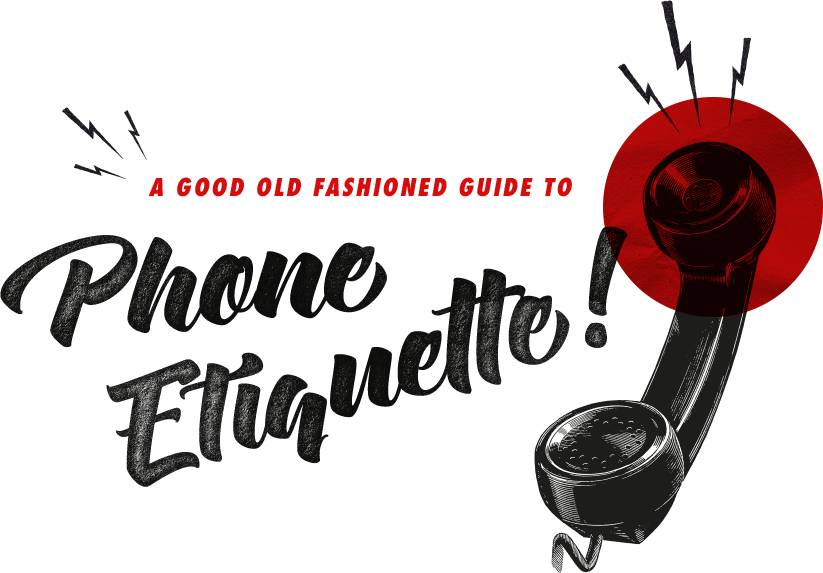 vector freeuse A Good Old Fashioned Guide to Phone Etiquette