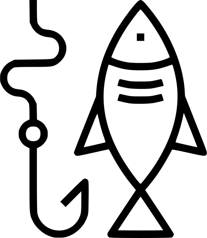free download Bass svg hook. Fishing png icon free