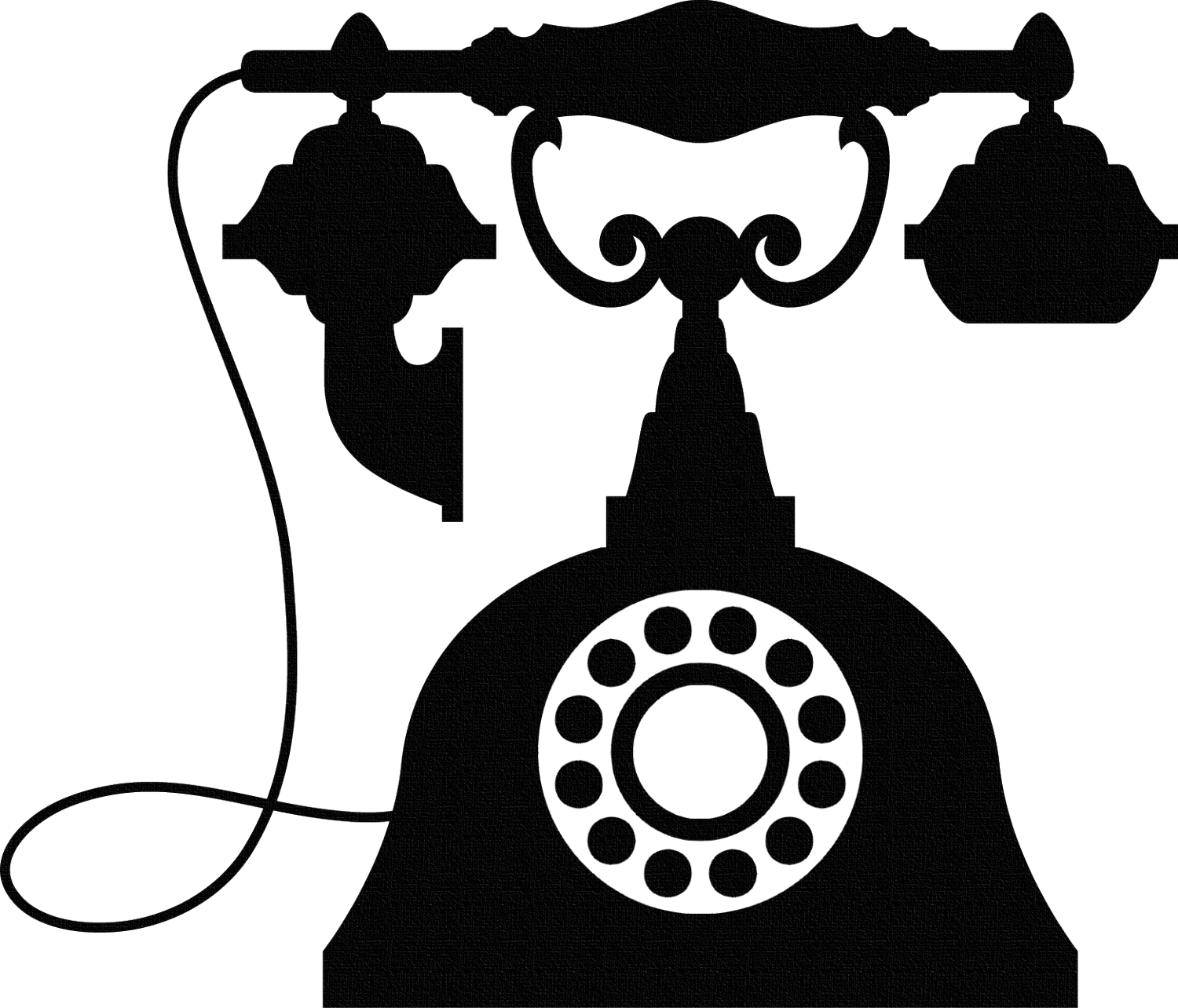 vector freeuse download Old Telephone Clipart Free Download Clip Art