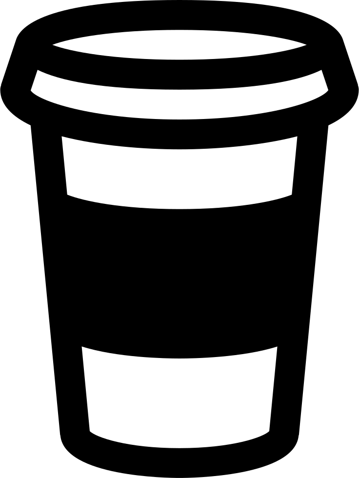 clip art transparent stock Coffee cup svg png. Latte clipart outline.