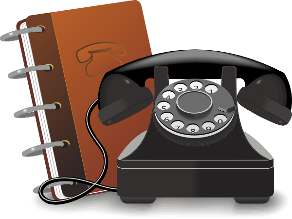 free stock Phone Book Clip Art at Clker