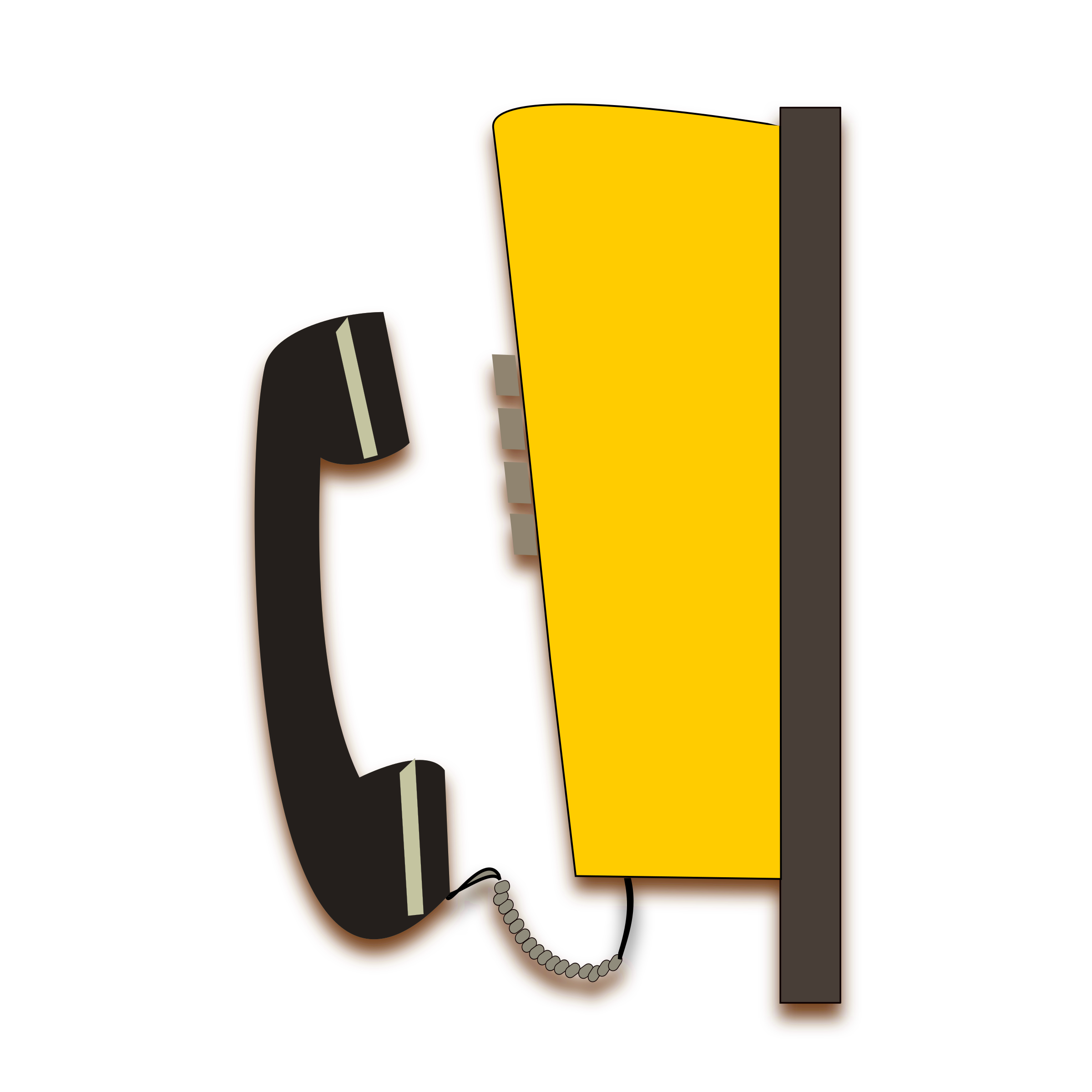 vector transparent library Public big image png. Telephone clipart vector.