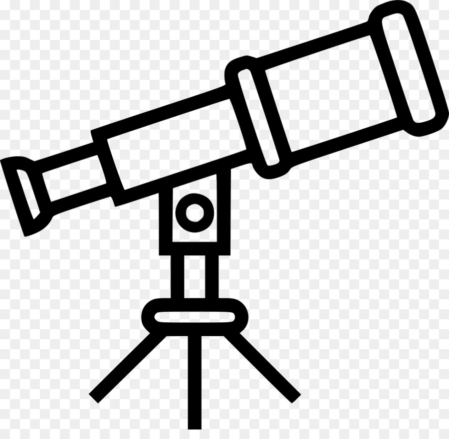 royalty free download Telescope clipart. Text background astronomy black.