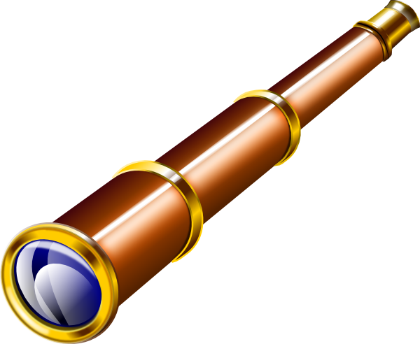 graphic transparent Telescope clipart. Clip art vector panda.