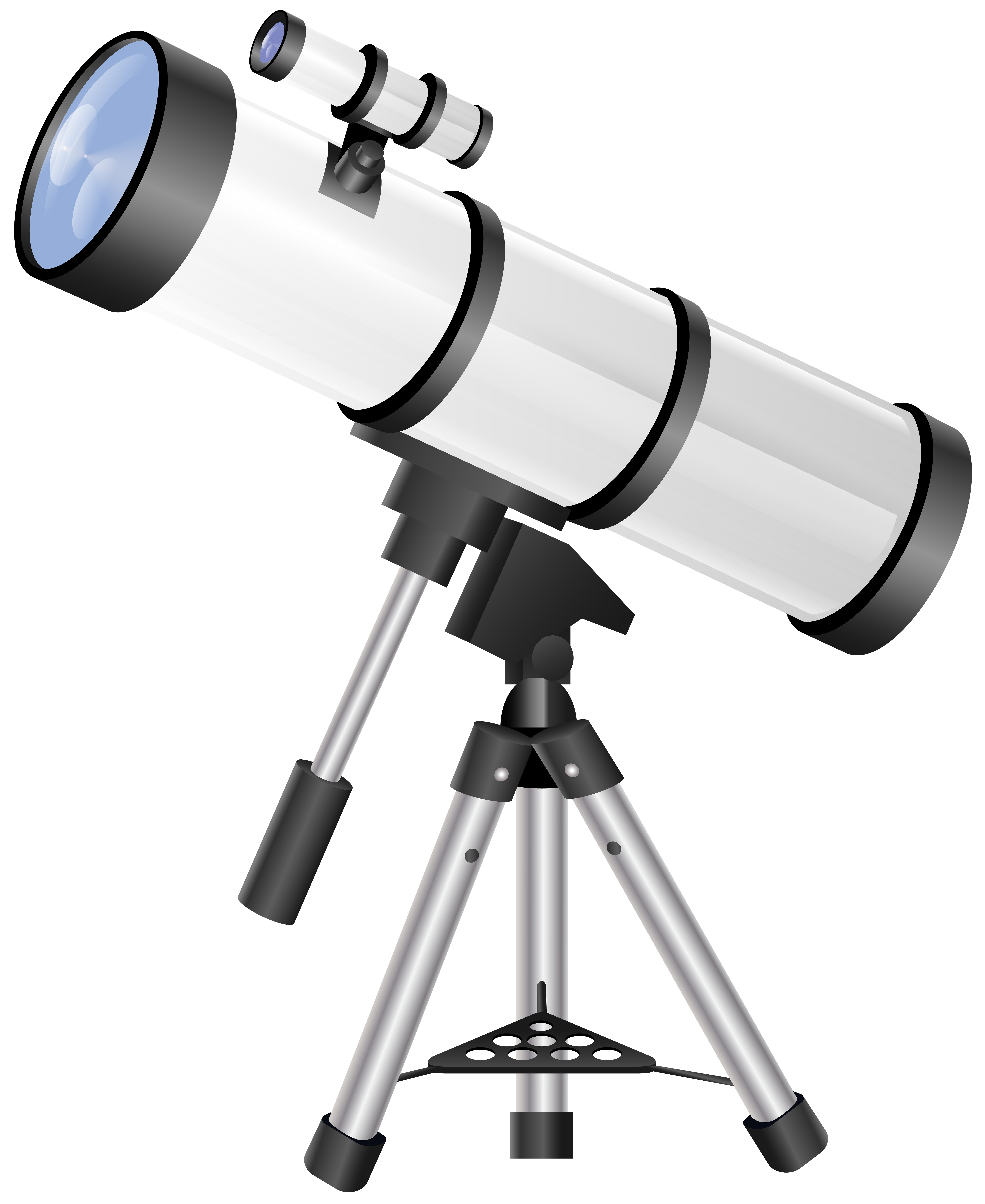 clipart black and white library Telescope clipart. Transparent png clip art.